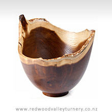 Natural Mulberry Wooden Bowl